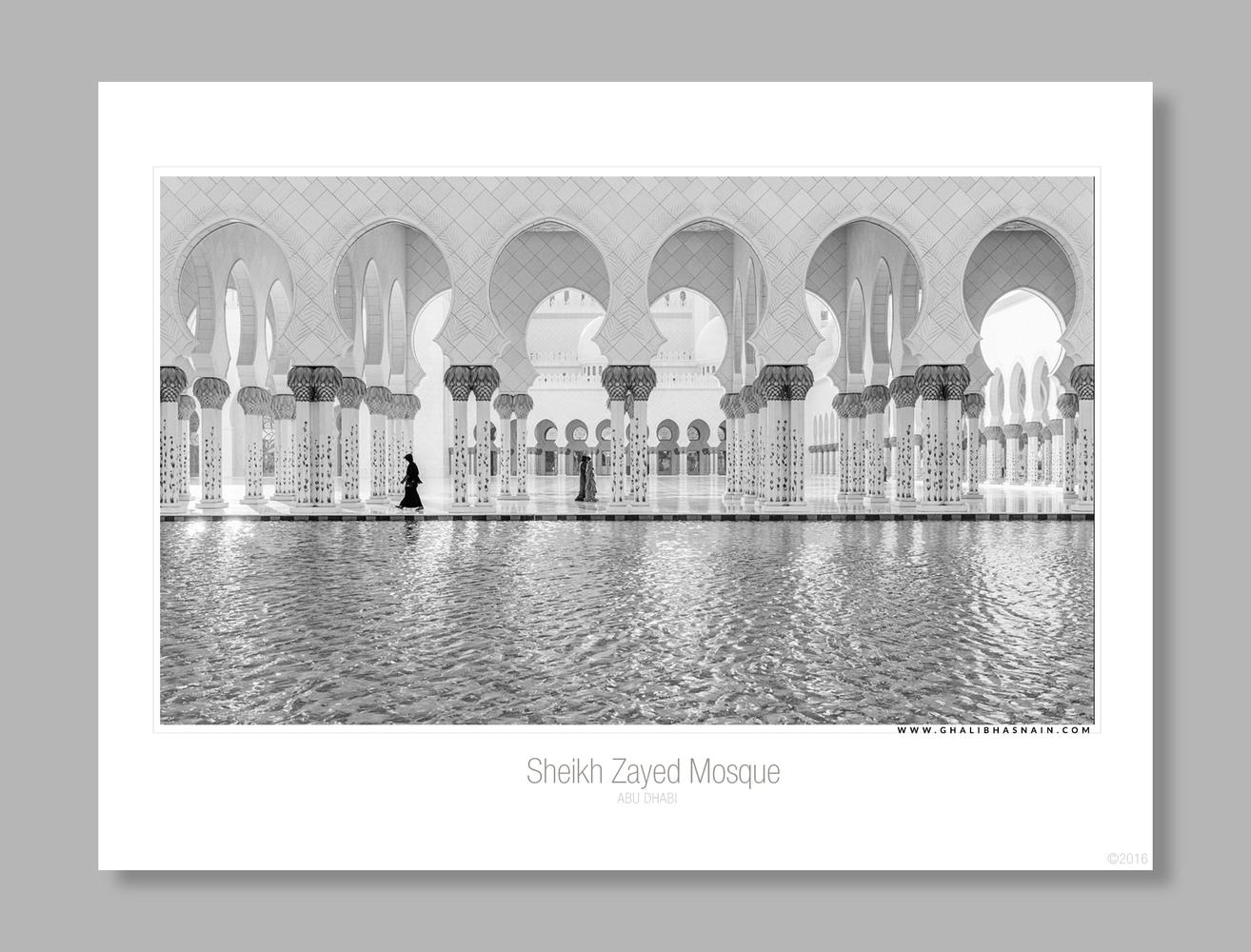 Sheikh Zayed Grand Mosque  by Ghalib Hasnain