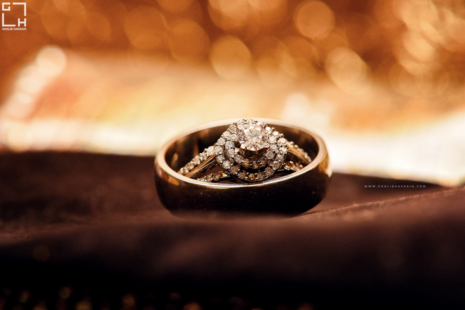 Wedding Rings by Ghalib Hasnain