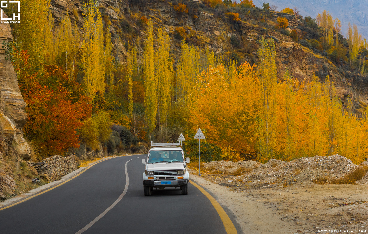 Autumn in Hunza by Ghalib Hasnain