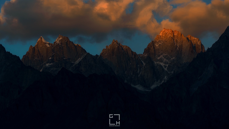 Sunset by Ghalib Hasnain