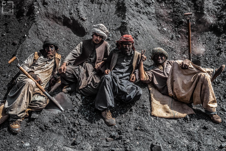 Coal Depot area near Quetta, Pakistan . by Ghalib Hasnain