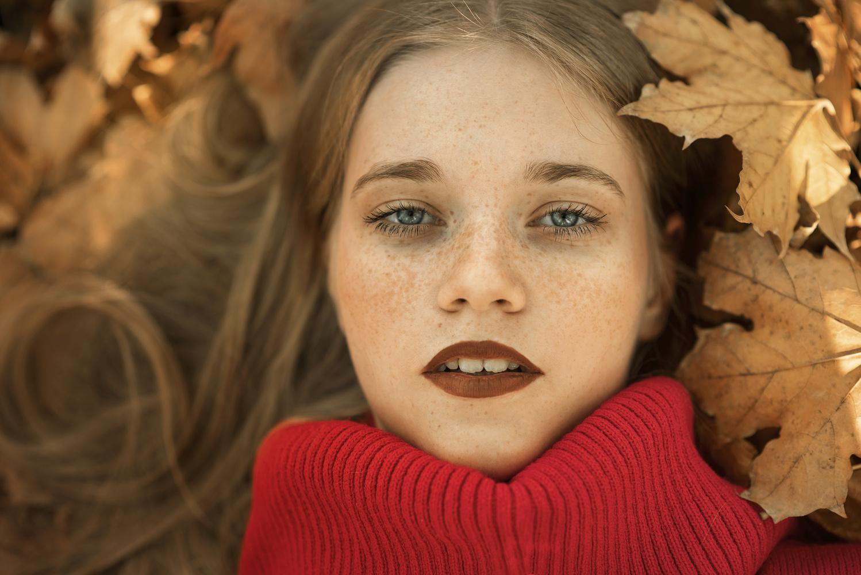 Fall Portrait by Reni Sz