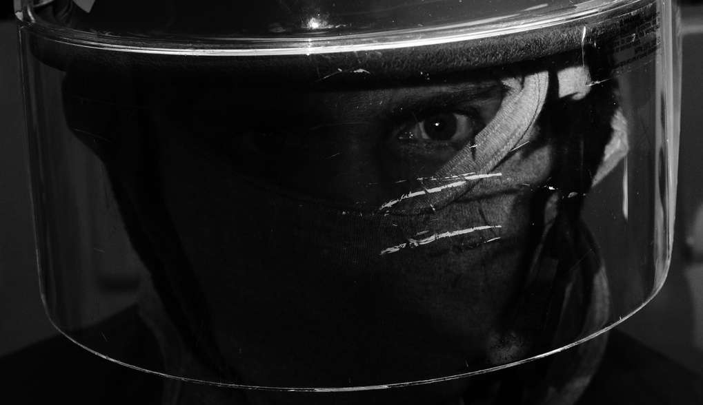 Fireman Up Close by Kelby Sanders
