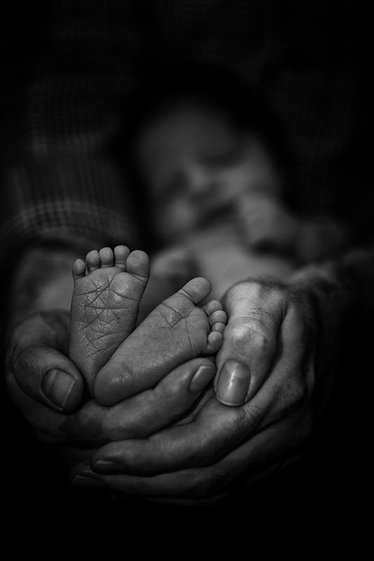 Baby Feet by Kelby Sanders