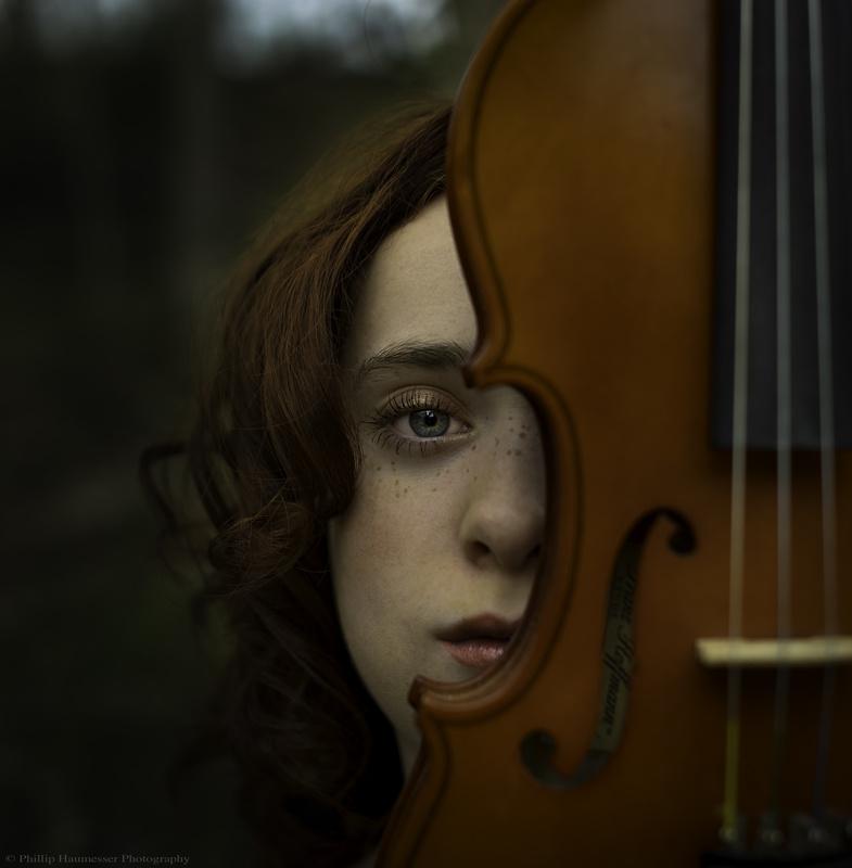 Le Violon by Phillip Haumesser