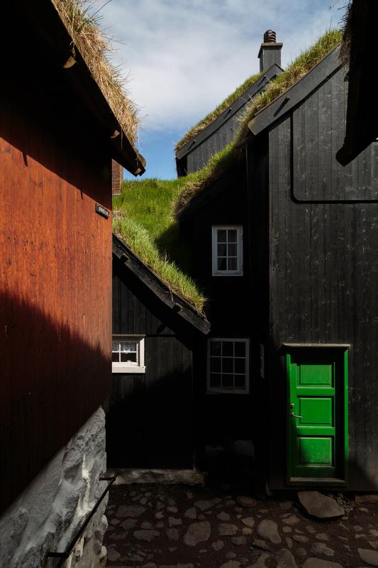Green Door by Mark Alan Andre