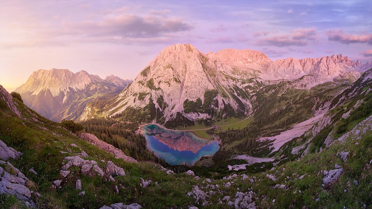 Alpine Paradise by Jens Sieckmann