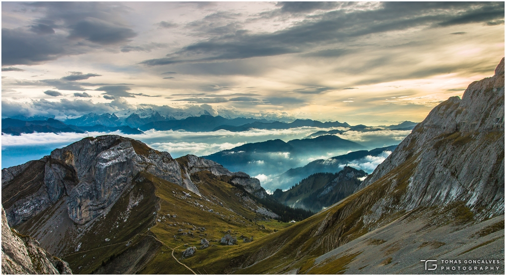 Mount Titlis - Engelberg, Switzerland by Tomas Goncalves