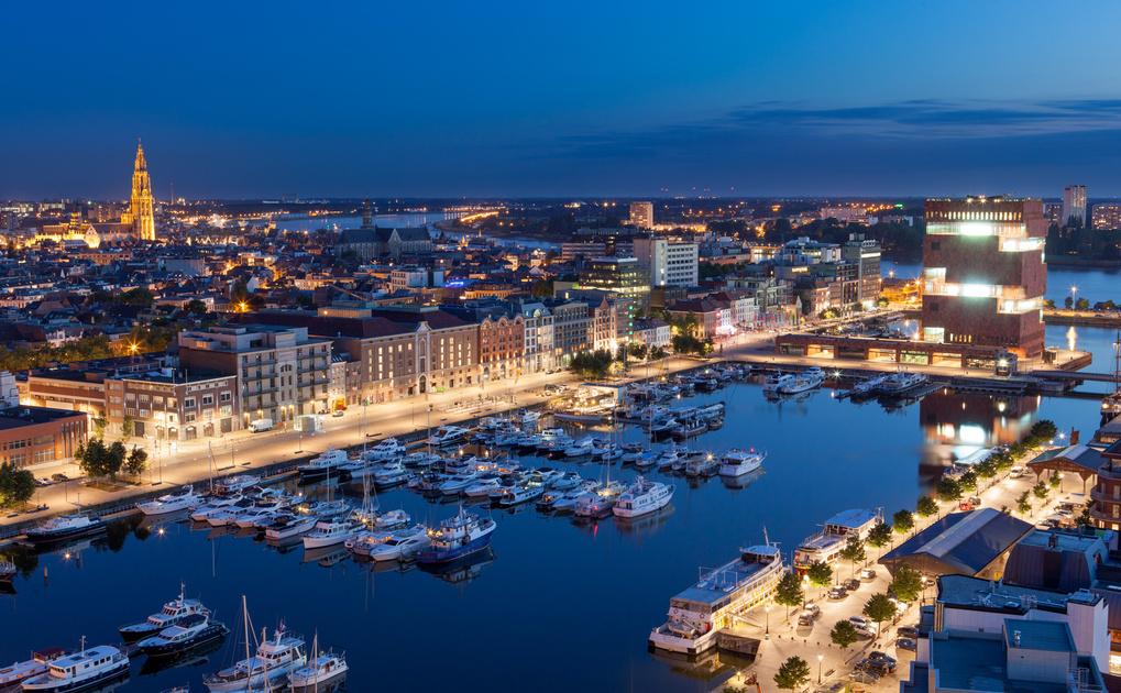 Antwerp, Belgium by Stef Devooght