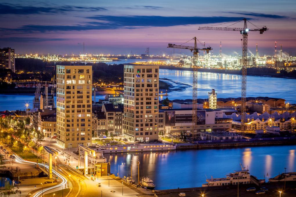 Antwerp, Scheldt by Stef Devooght