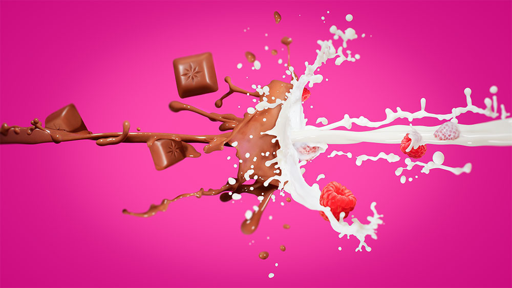 Choco Milk Splash by Ove Sandersen