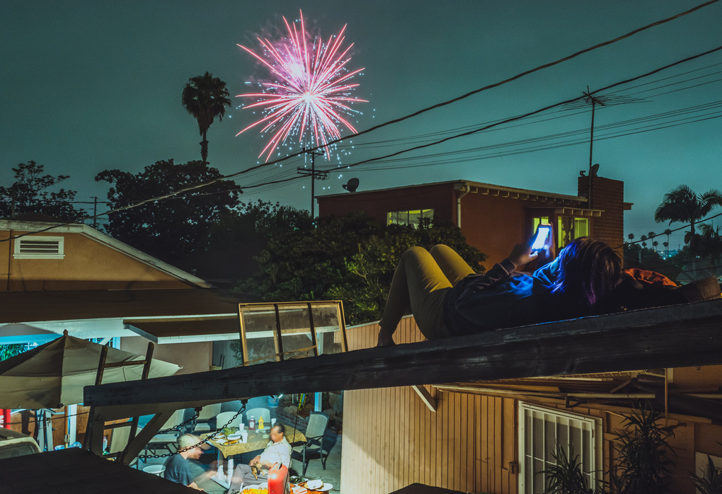 Fourth of July 2015 in South Central Los Angeles by jjett _