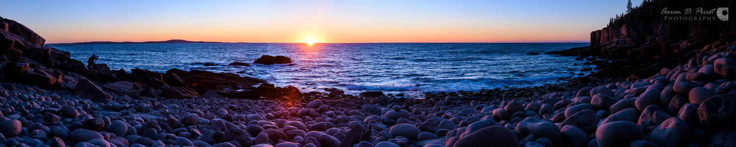 Sunrise over Boulder Beach by Aaron Priest
