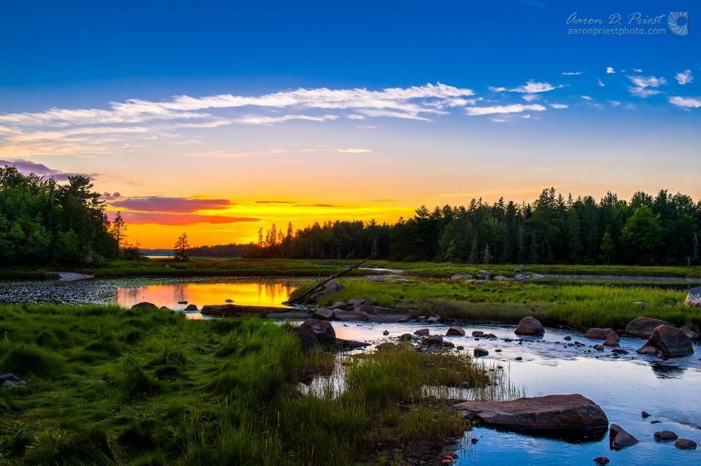 North East Creek, Bar Harbor, Maine by Aaron Priest