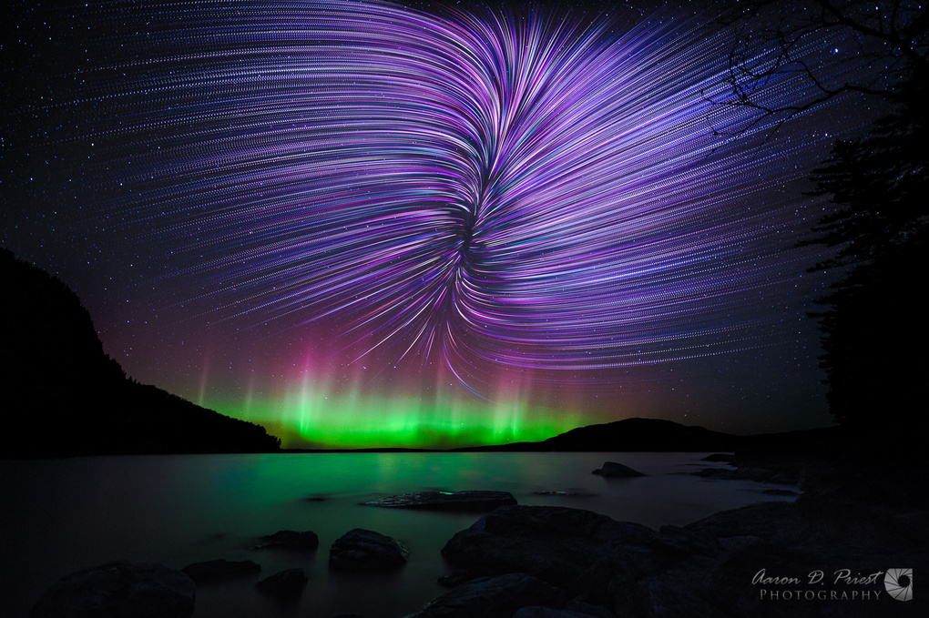 Rift Star Trails by Aaron Priest