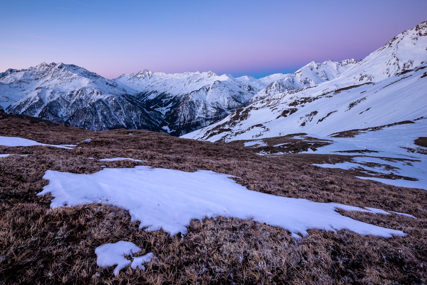winter transition by Greg Cichecki