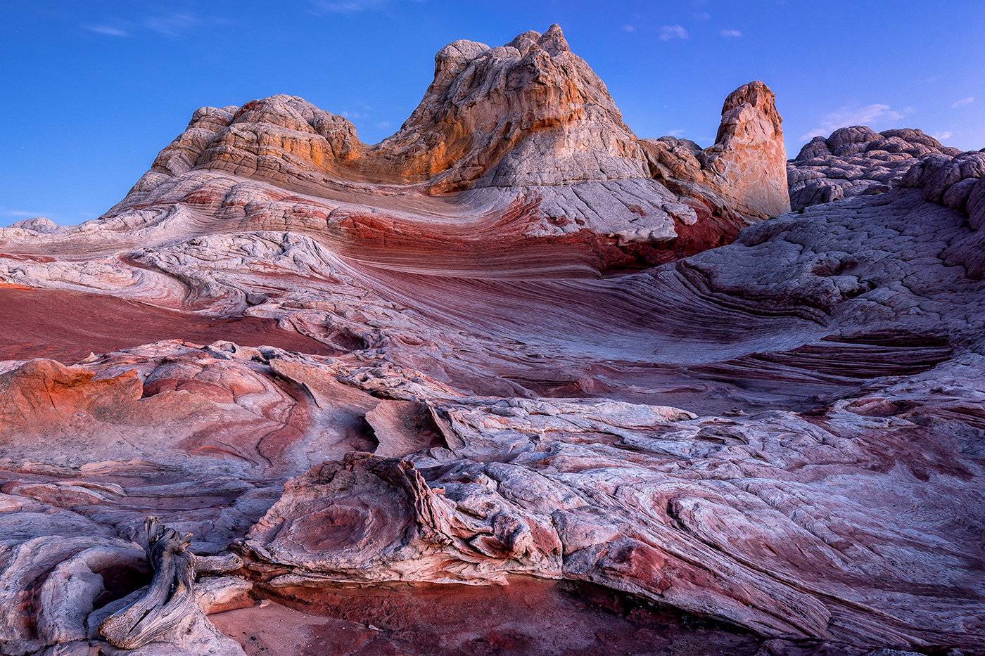 blue hour on Mars by Greg Cichecki