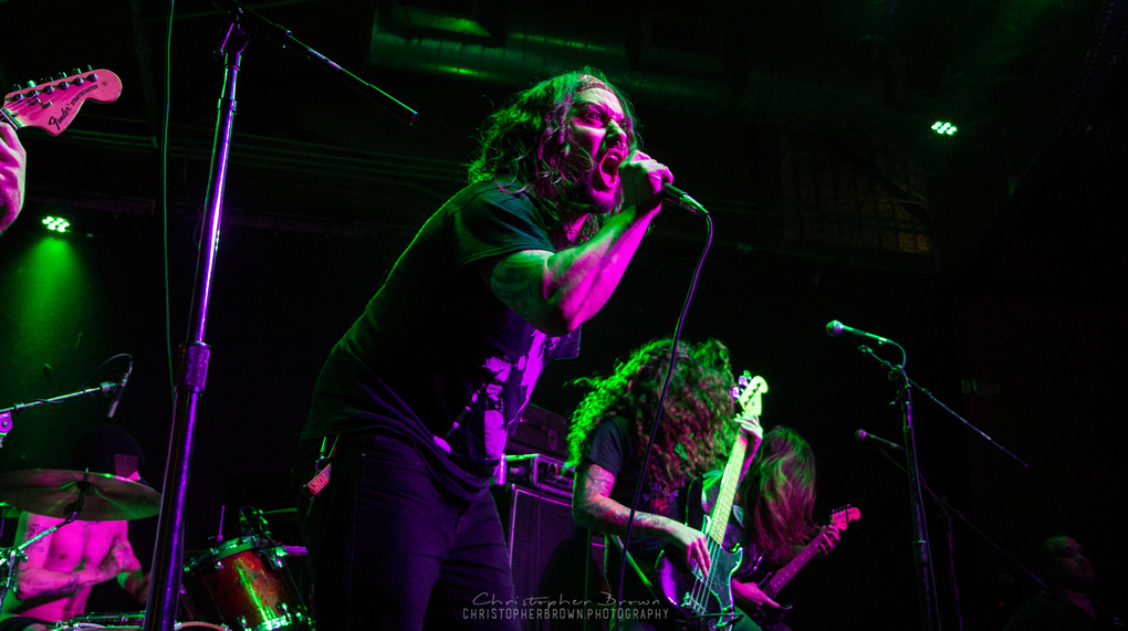 Tony Foresta of Iron Reagan & Municipal Waste by Christopher Brown