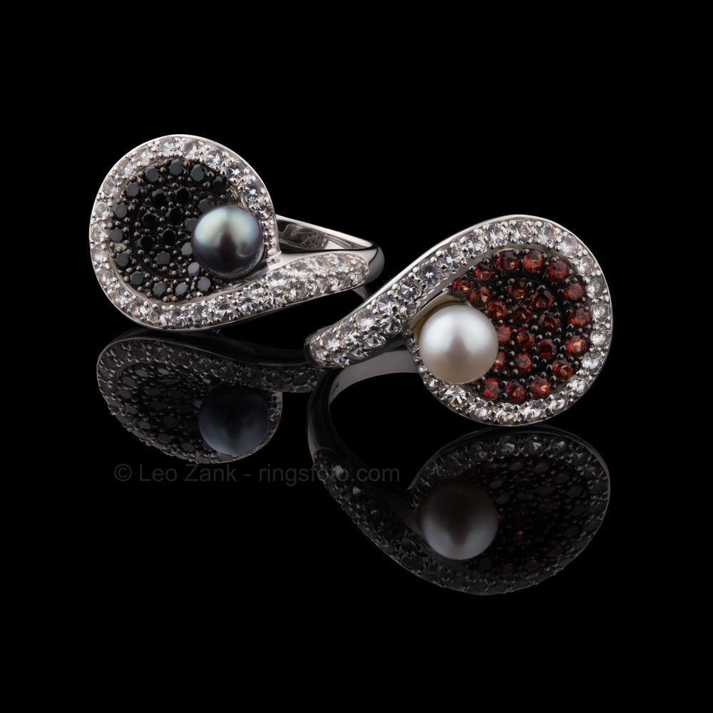 Silver Rings by Leo Zank