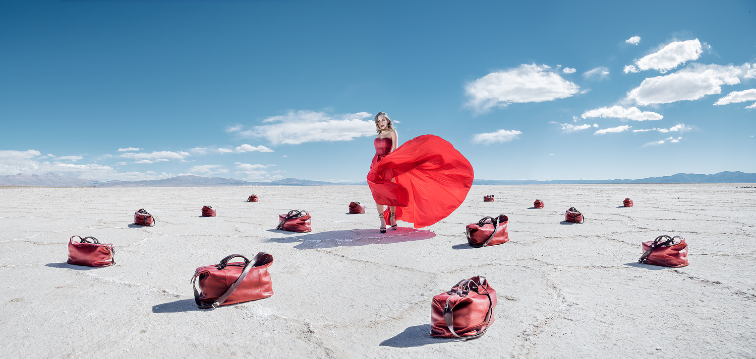 Walking the salt plains by Max Klein