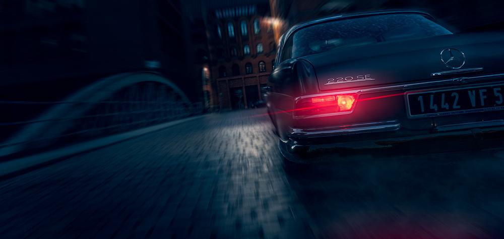 Mercedes Benz 220 SE by Max Klein