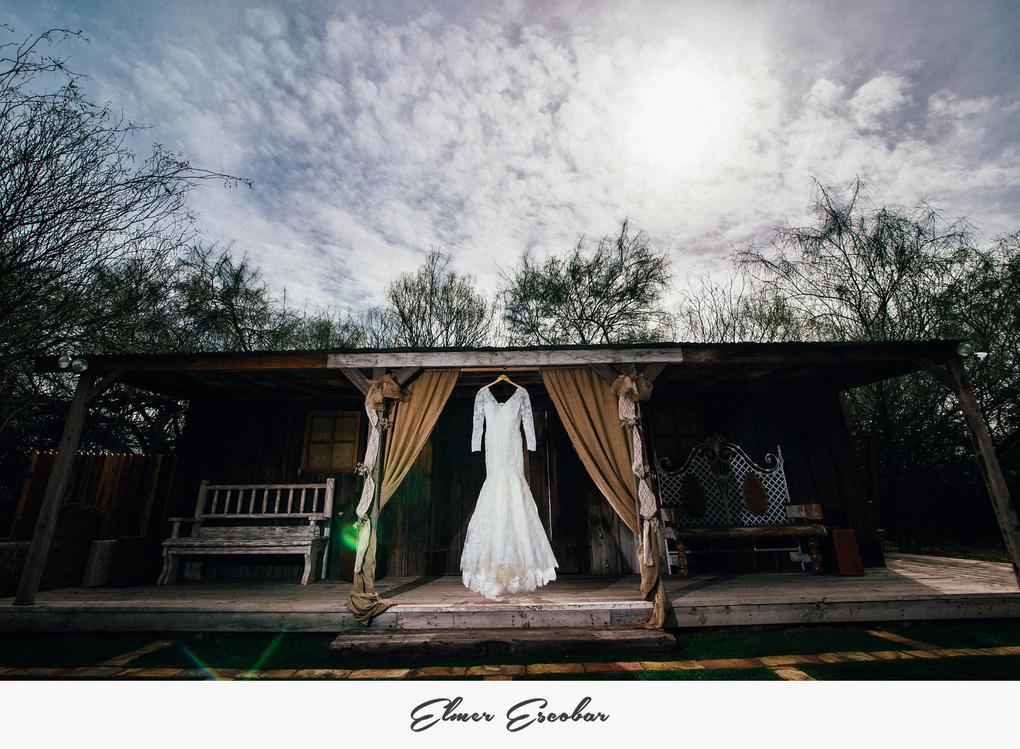 Wedding Dress by Elmer Escobar