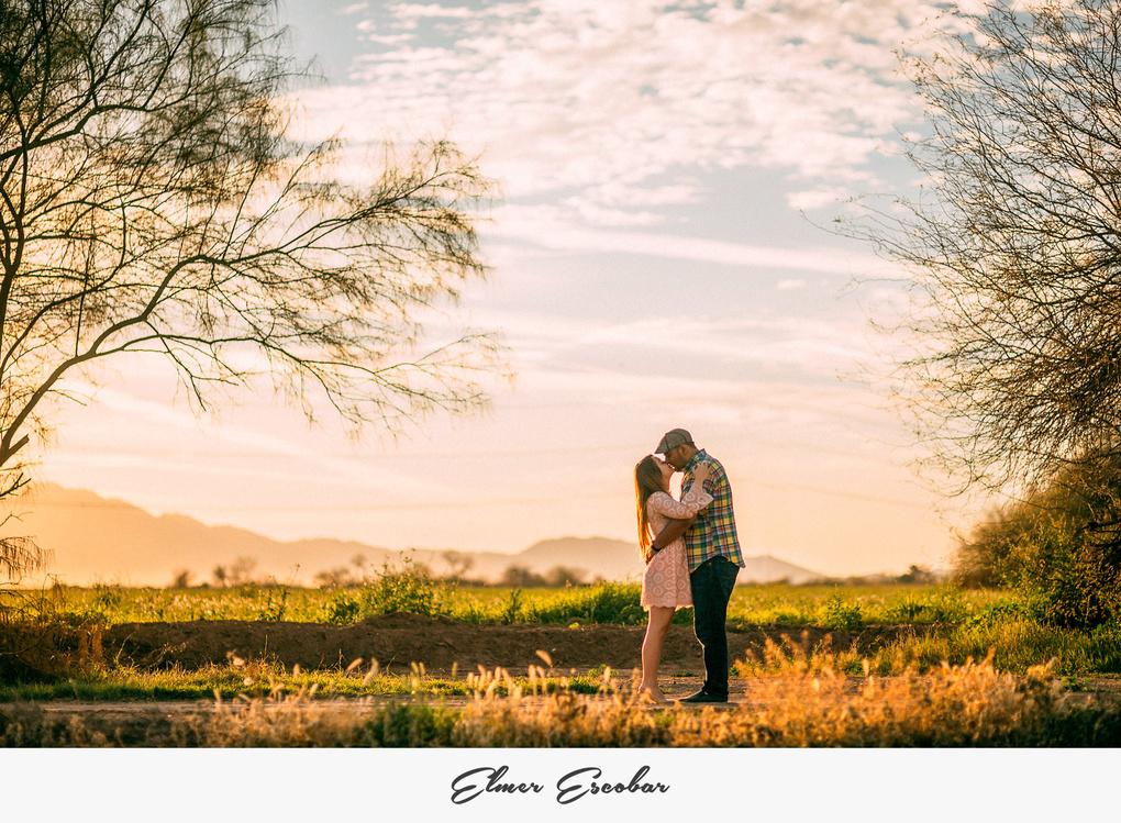 Tucson Engagement Session by Elmer Escobar