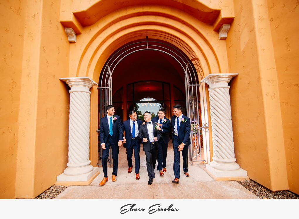 Groomsmen by Elmer Escobar