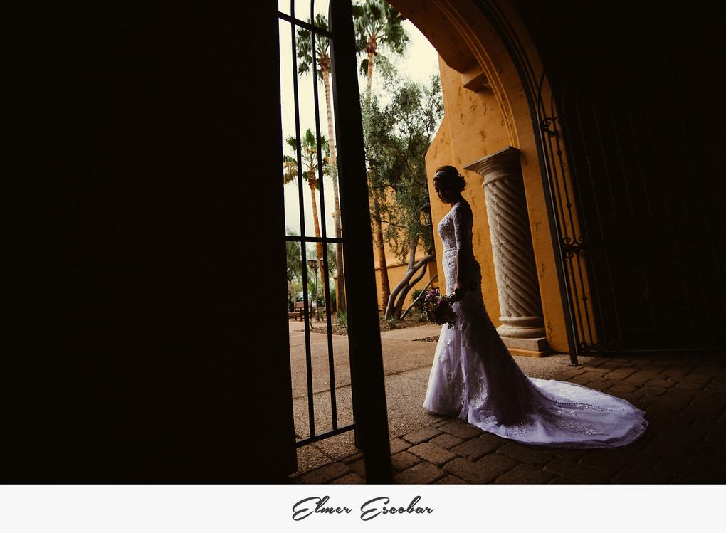 Bride Before Ceremony by Elmer Escobar