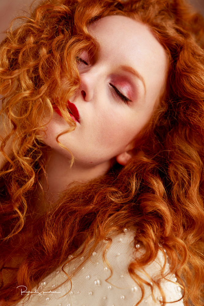Red haired beauty by Richard Spurdens