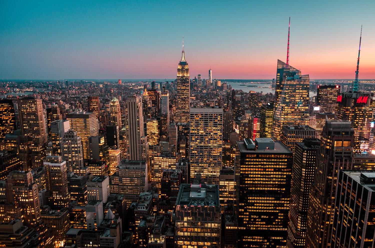 New York City Skyline by Thomas Brablec