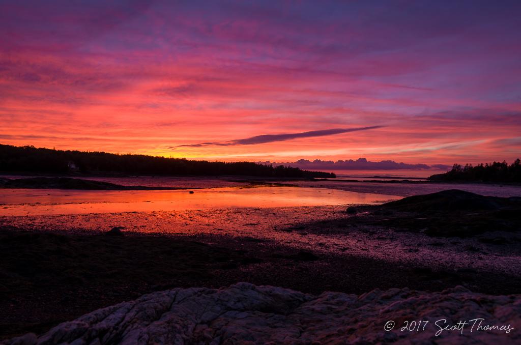 Northwest Harbor Sunset by Scott Thomas