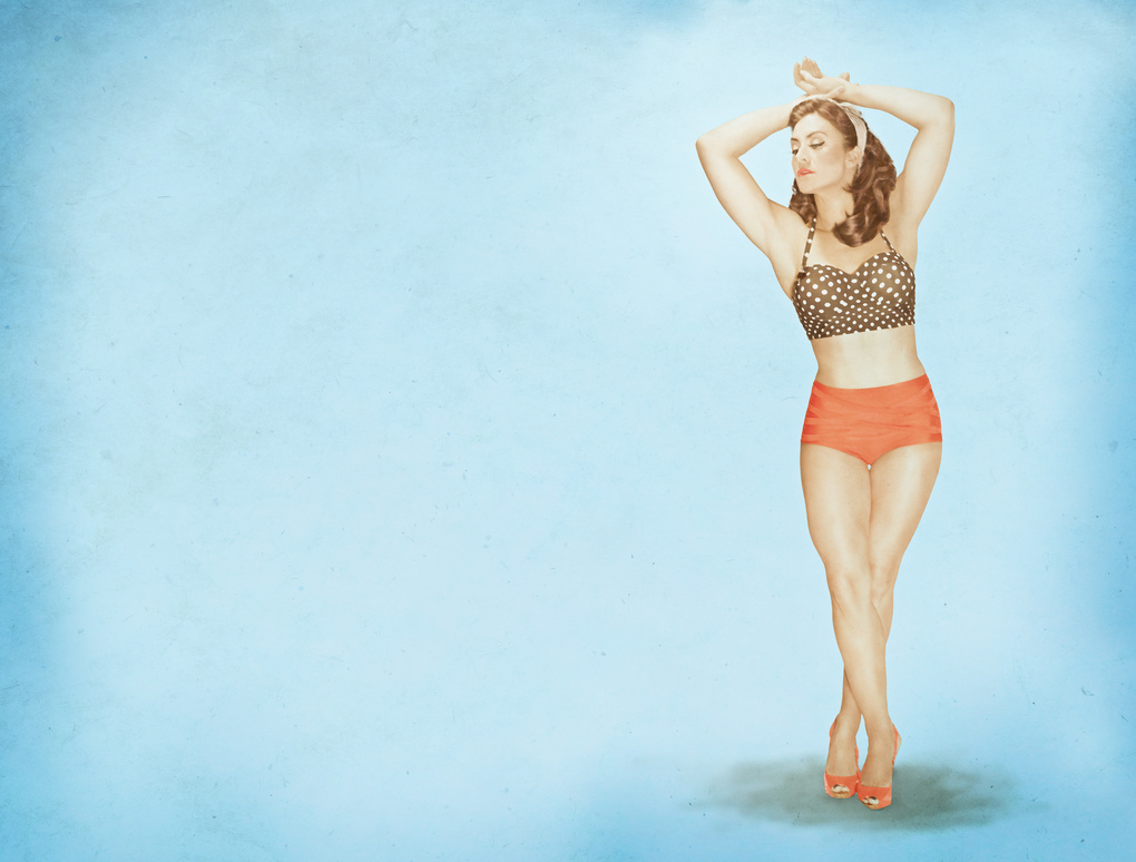 Susanne PinUp by Chad Roberge
