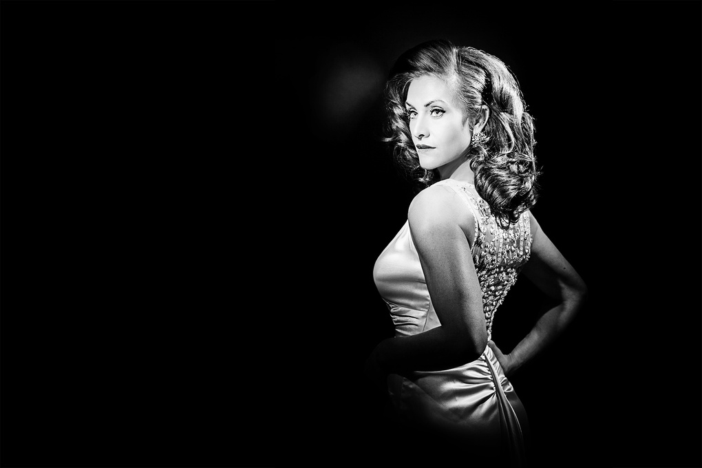 Susanne in Vintage Glamour by Chad Roberge