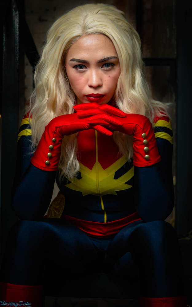 Captain Marvel by Heather Moore