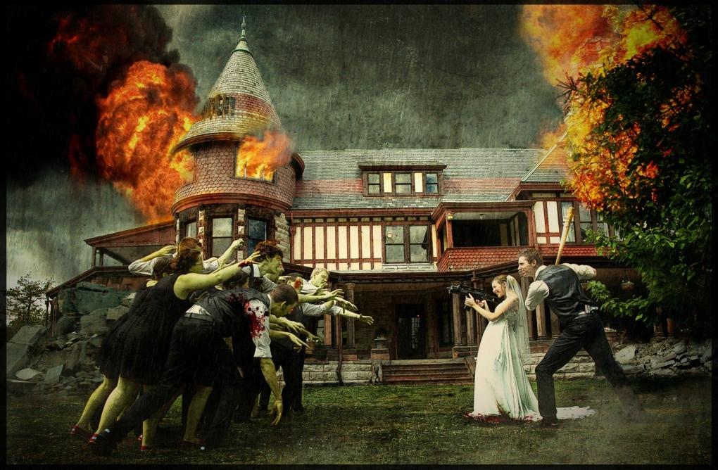 Wedding Zombie by Josiah Moore