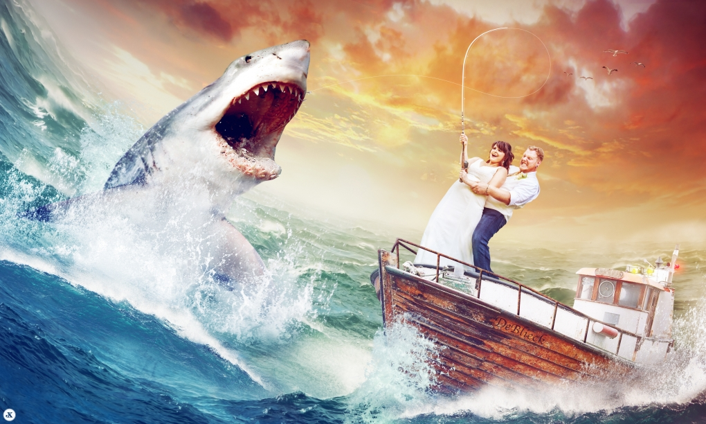 Gone Fishin' - Wedding picture by Josiah Moore
