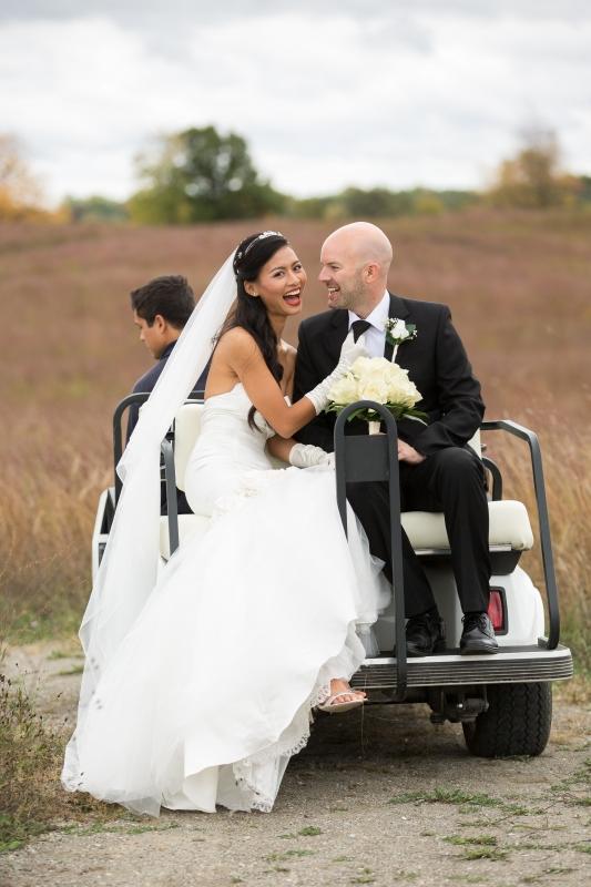 Golf Cart Couple by Jason Switzer