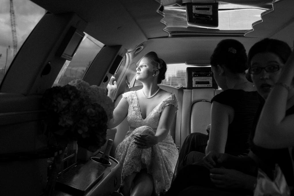 Smoking Bride by Jason Switzer