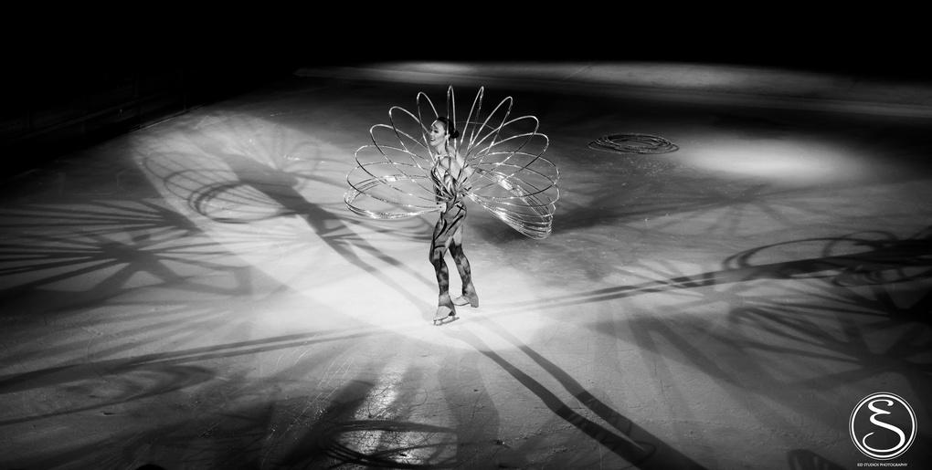 Hula Hoop on ice by Justin Eid