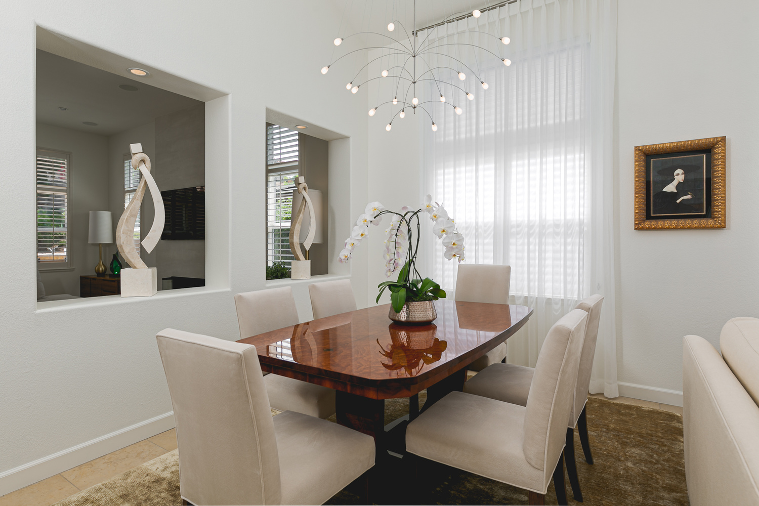 Del Mar Dining Room by Ian Meyers