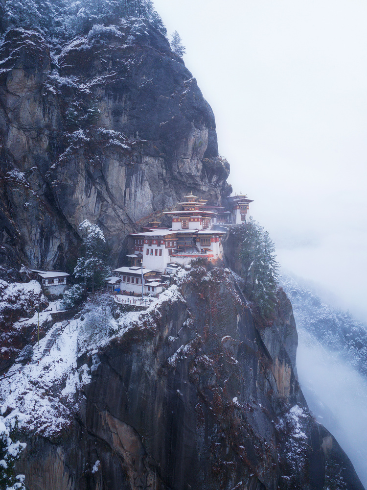 Tiger's Nest Monastery, Bhutan by Terence Leezy