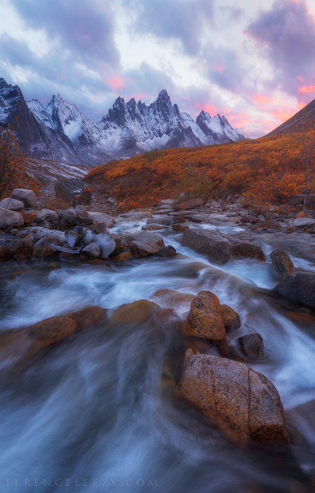 Patagonia of North America by Terence Leezy
