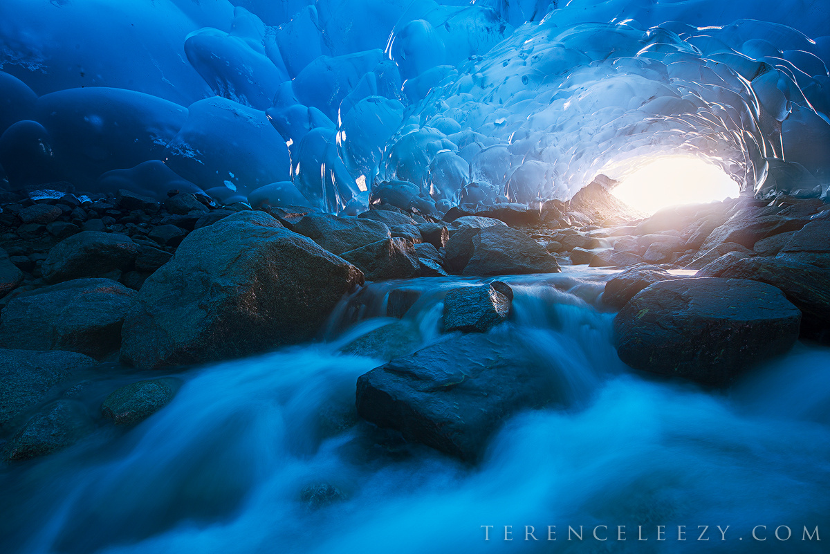 Blue Ice by Terence Leezy