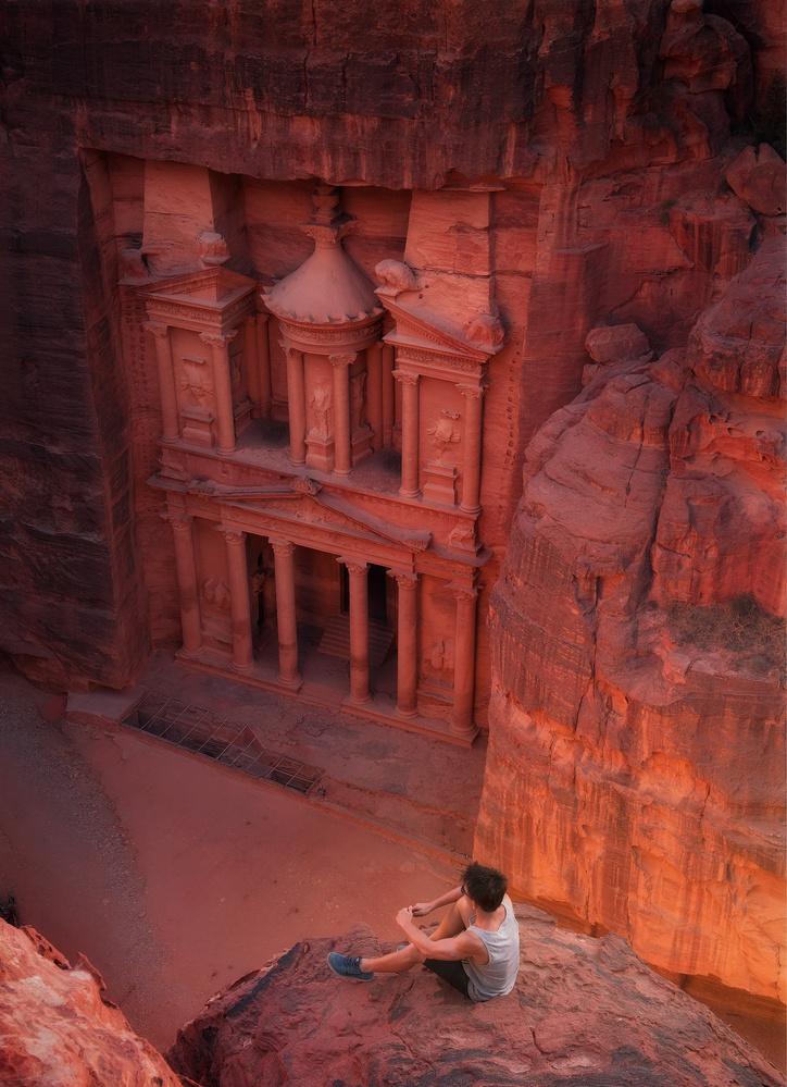 Petra, Jordan by Terence Leezy