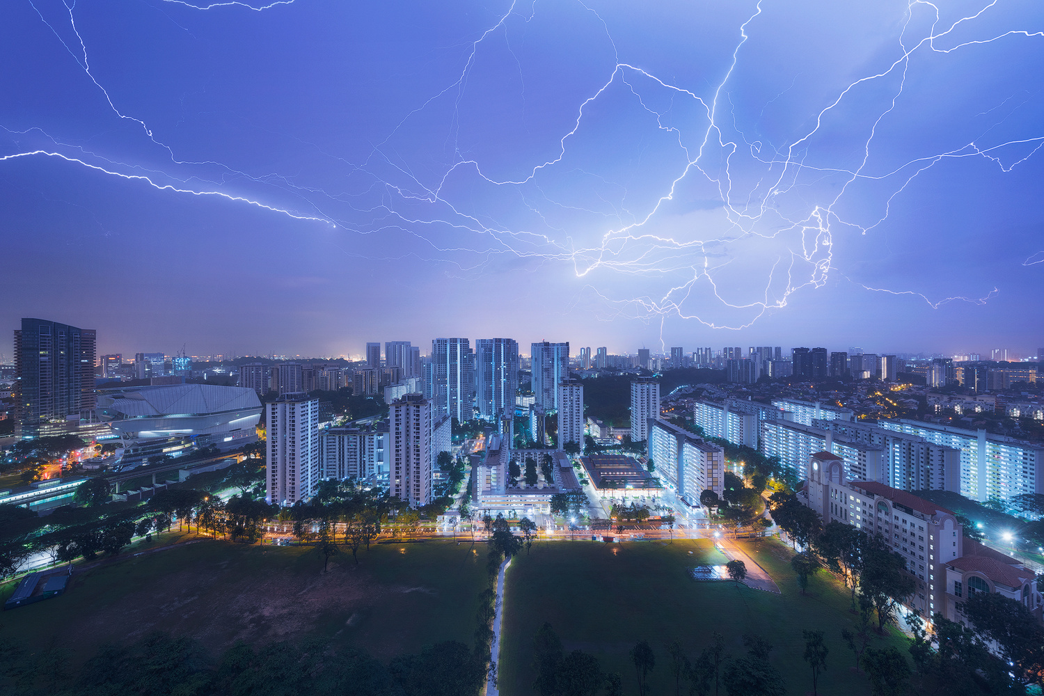 Monsoon Singapore by Terence Leezy