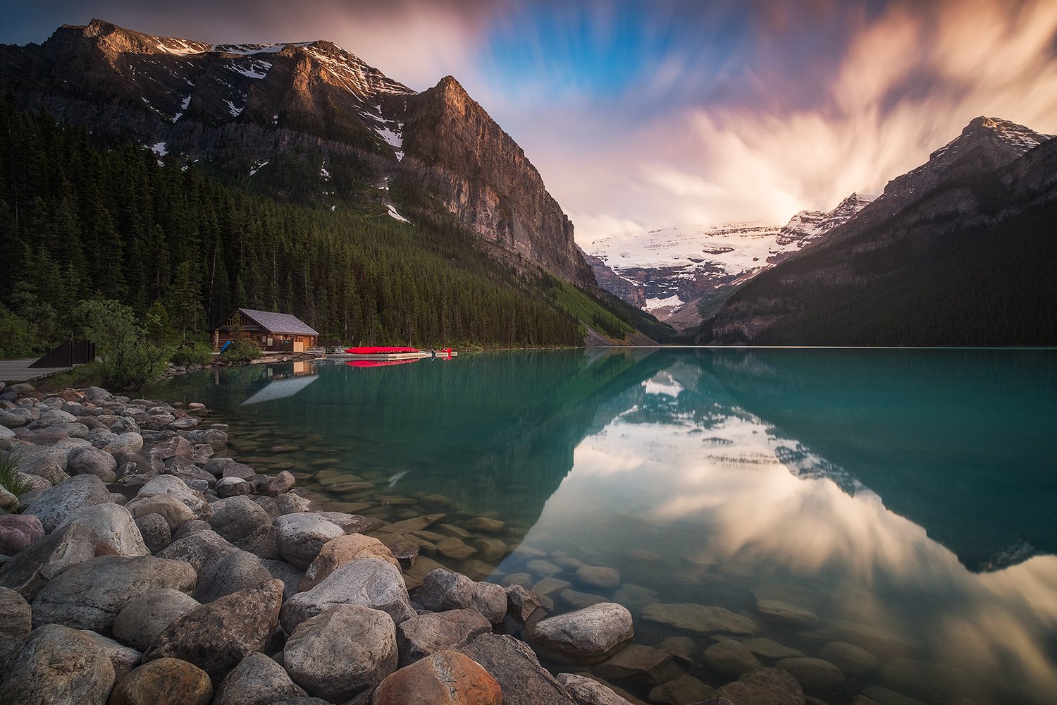 Lake Louise by Win Mag