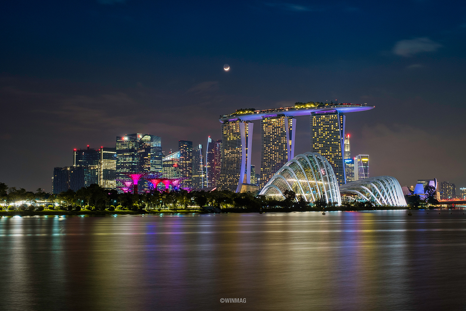Marina Bay Sands by Win Mag