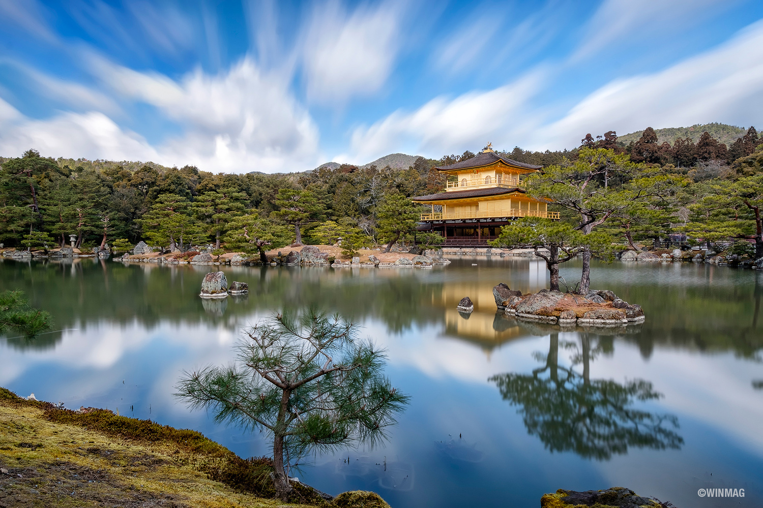 The Golden Pavilion by Win Mag