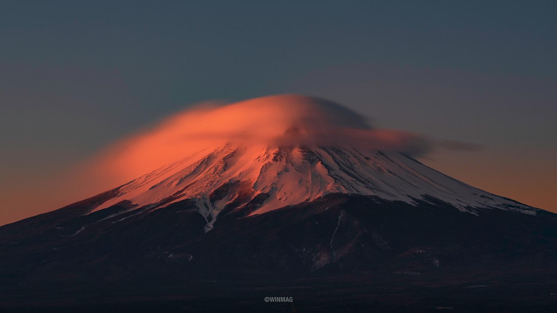 Fuji-San's Veil by Win Mag